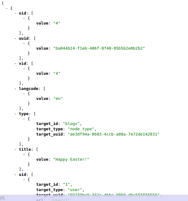 how to create json data