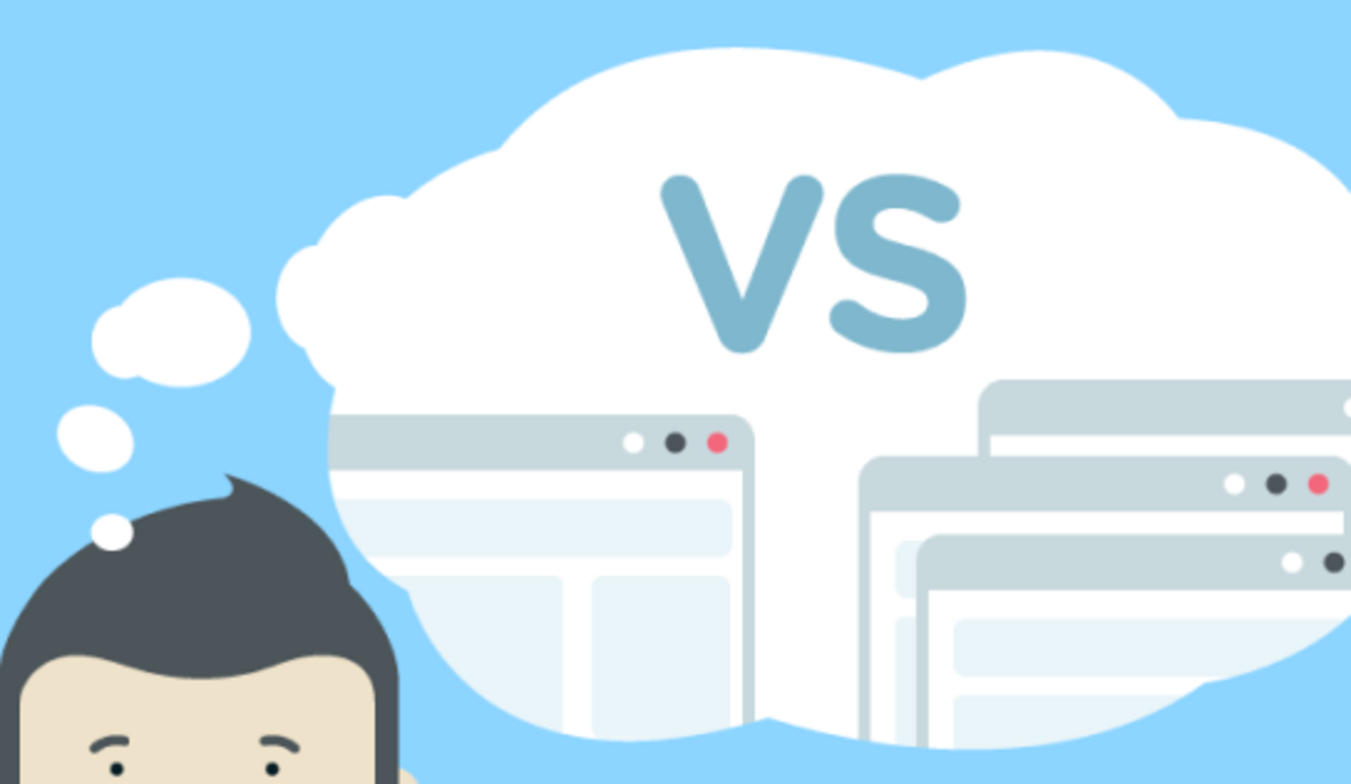 What's the difference between single-page application and multi-page