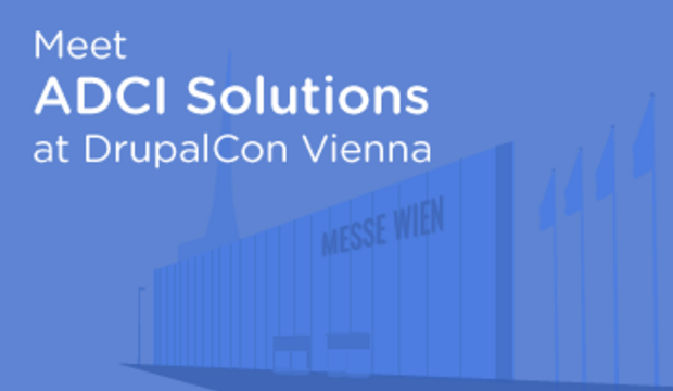 Meet ADCI Solutions at DrupalCon Vienna