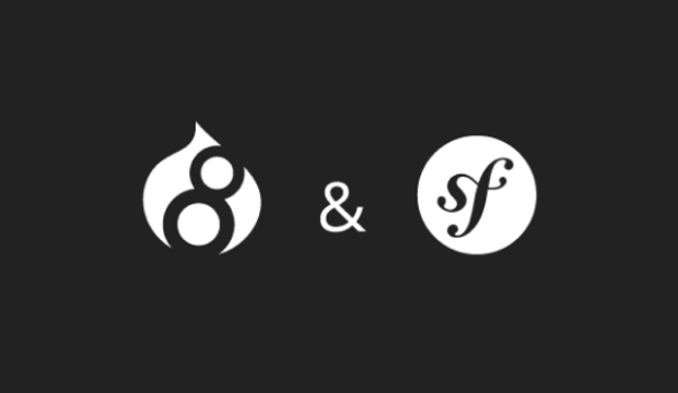 Drupal 8 core and Symfony components