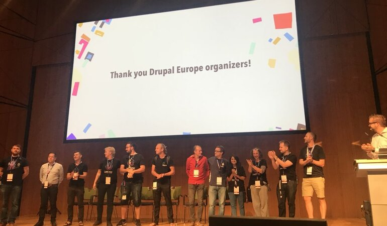 Thanks to all Drupal Europe organizers