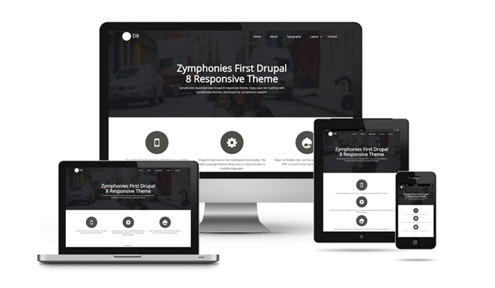 Top-10 Drupal corporate themes 5