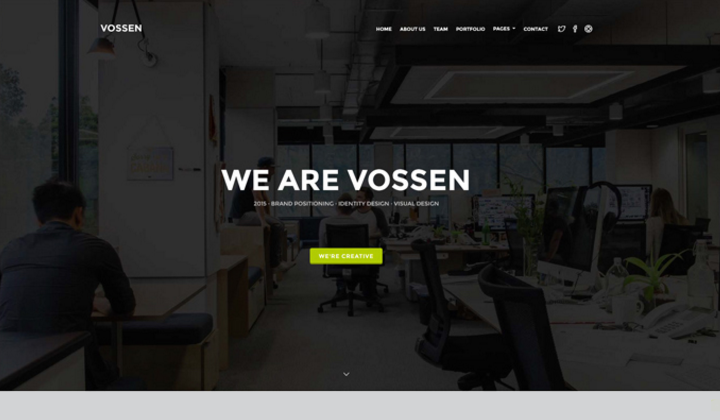 Top-10 Drupal corporate themes 8