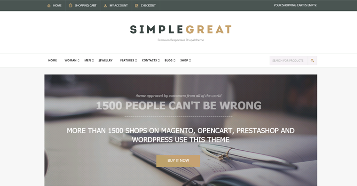 The SimpleGreat theme