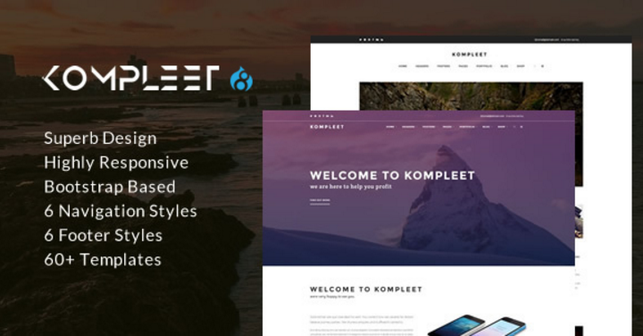 4 Top 10 responsive Drupal themes