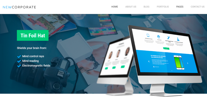 Multipurpose Corporate Theme